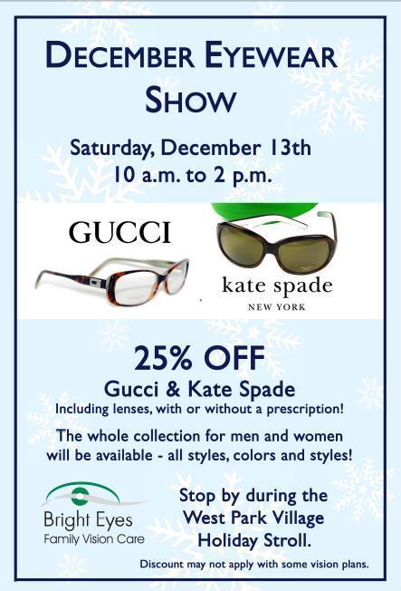 December Eyewear Show